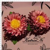 "Резиночки ""Яркие цветочки"""