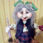 "Кукла из капрона Ягулишна (""Баба Яга"")"