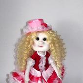 Кукла текстильная в костюме кардебалета