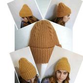 фото: шапка с подворотом