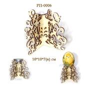 06 Подставка для свечи, яйца или... Заготовки для росписи