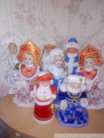 Новогодние куклы ручной работы на заказ