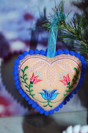 Валентинка сердечко ручной работы на заказ