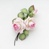 """Брошь с цветами из фоамирана """"Античные розы"""""""