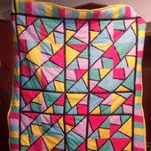 """Лоскутное одеяло """"Ярмарки краски"""""""