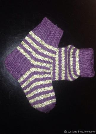 Носки вязаные ручной работы на заказ