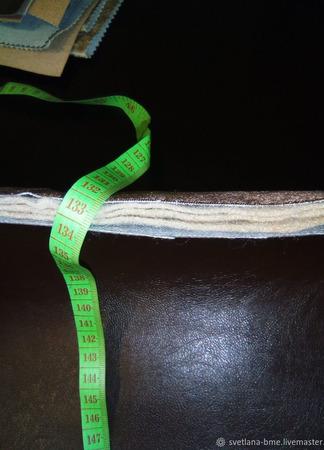 Джинсовые домашние тапочки ручной работы на заказ