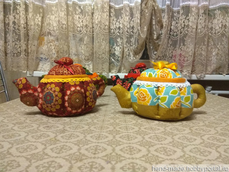 Текстильный чайник ручной работы на заказ