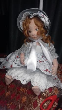 Кукла ручной работы Агата ручной работы на заказ