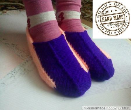 Носки и следки ручной работы на заказ