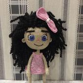 Кукла крючком Лилу