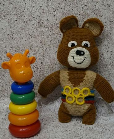 """Медвежонок """"Миша"""" ручной работы на заказ"""