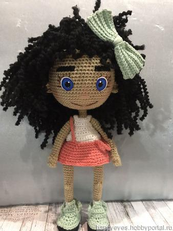 Кукла крючком Дива ручной работы на заказ
