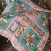 Лоскутное одеяло для молодожёнов