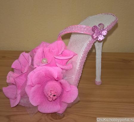 Сладкая туфелька ручной работы на заказ