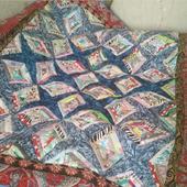 Лоскутное одеяло для подростка