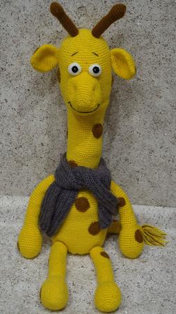 Жираф Филимон ручной работы на заказ