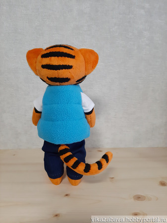 Тигр городских джунглей ручной работы на заказ