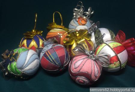 Елочные шары ручной работы на заказ