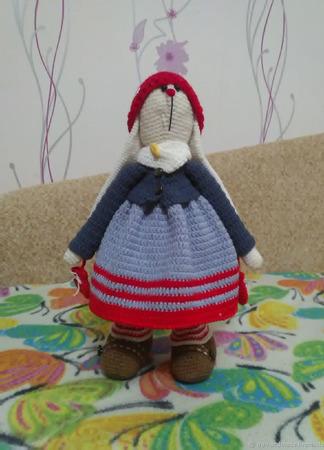 Куклы Тильда: Зая-Буся ручной работы на заказ