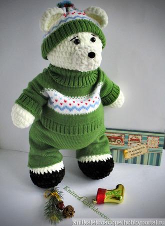 Медвежонок Умка ручной работы на заказ