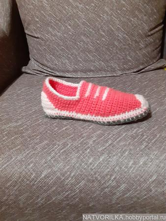Тапочки-пинетки ручной работы на заказ