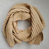 """Вязаный шарф """"Крокус"""""""
