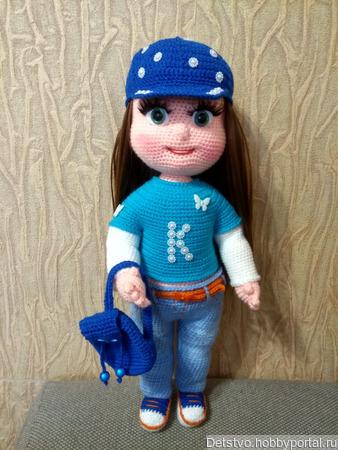 Кукла Ксюша ручной работы на заказ