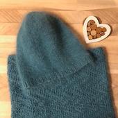 Комплект - шапка и снуд