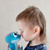 "Мягкие игрушки:  саламандра Бруни (м/ф ""Холодное сердце"")"