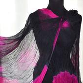 Шифоновый женский шарф