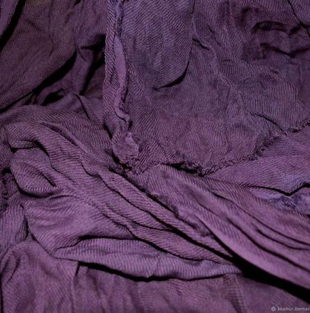 Шарф виноградный ручной работы ручной работы на заказ