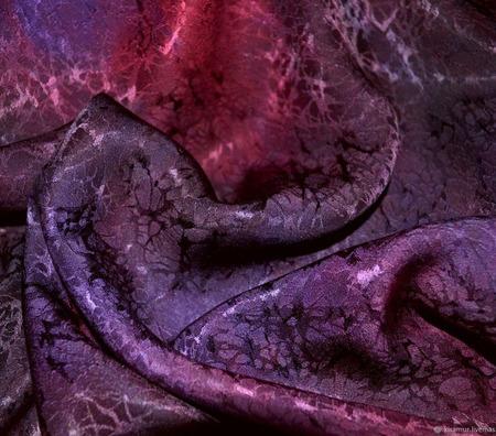 Женский шарф бордово-фиолетовый жаккард ручной работы на заказ