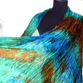 Шарф женский длинный разноцветный