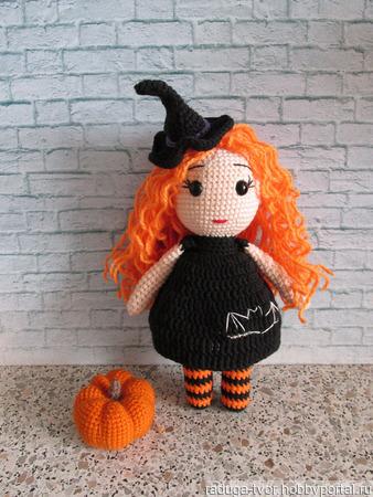 Кукла Ведьмочка Лили ручной работы на заказ