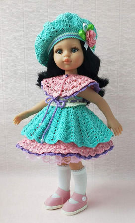 Наряд для кукол Паола Рейна и схожих по размеру ручной работы на заказ