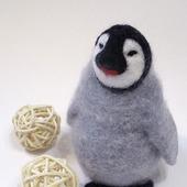 """Игрушка из войлока """"Пингвиненок"""""""