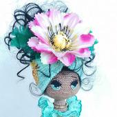 "Интерьерная кукла ""Наоми"""