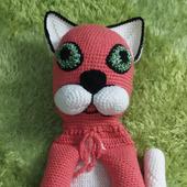 """Игрушка-пижамница """"Розовый котя"""""""