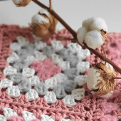 "Комплект: плед ""Розовый"" + подушка"