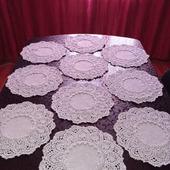 Салфеточки ручной работы для сервировки стола