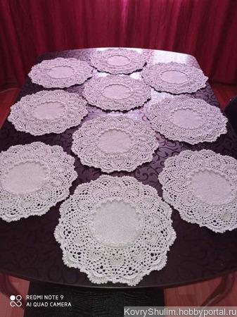 Салфеточки ручной работы для сервировки стола ручной работы на заказ