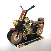 Мотоцикл из конфет