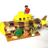 Подводная лодка из конфет