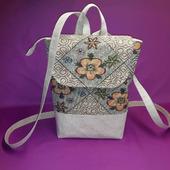 Рюкзак льняной