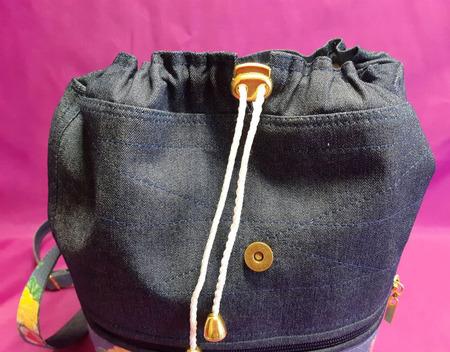 Рюкзак джинсовый детский ручной работы на заказ