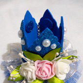 Корона синяя