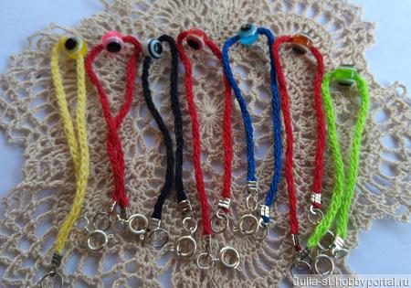 Оберег: цветная нить от порчи и сглаза ручной работы на заказ