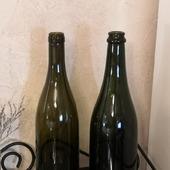 Бутылки оливковые винно-шампанские в ассортименте