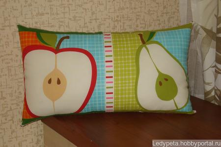 Подушки фруктовые ручной работы на заказ